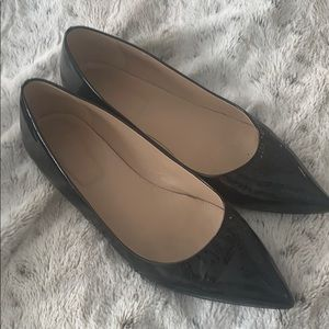 JCrew Pointy toes flat